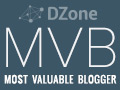 Dzone Most Valueable Blogger